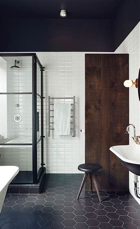 Modern Black And White Bathrooms by Black And White Bathroom Inspiration And Why Namoi Watts