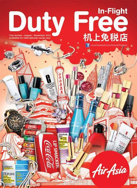 Airasia Duty Free | in flight duty free thai airasia by kingpowerofficial