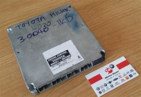 Ecu Komputer 89661 0ks11 Toyota Hilux 2008 toyota hilux 3 0l d4d computer box ecu 1kd matadoor