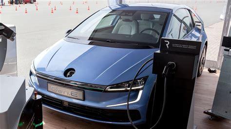 volkswagen electric volkswagen gen e appears to preview next gen electric golf