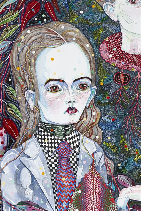 Del Kathryn Barton Artwork by What Is Visual Culture Collage Activity Meaning And