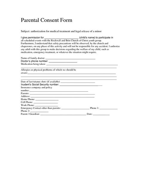 free child travel consent form template free child travel consent form template it resume cover