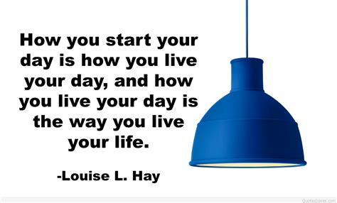 your word is a l start your day with a motivation quote louise l hay
