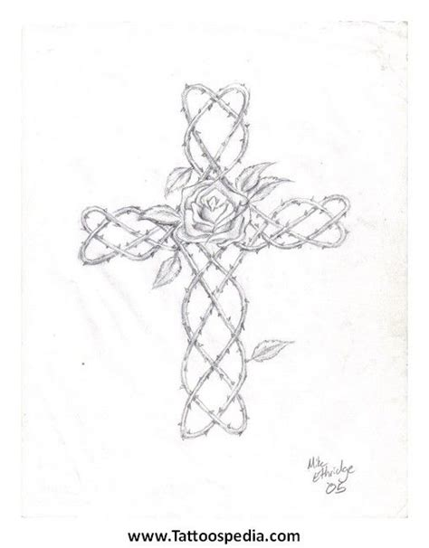 vine cross tattoos cross with vines cross 20tattoos 20vines 205