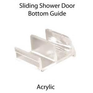 m6111 clear acrylic sliding shower door bottom guide