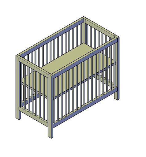 bouwtekening bed baby ledikant bouwtekening bed bouwtekeningen