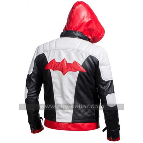 Hoodie Zipper Redhood Batman Arkham Jason Todd Jacket