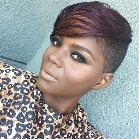 almost bald black hairstyles for woman 23 most badass shaved hairstyles for women shaved