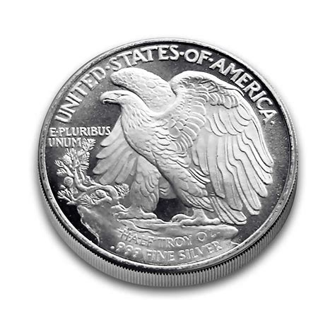 1 oz silver rounds 999 1 2 oz silver rounds half walking liberty 999 silver