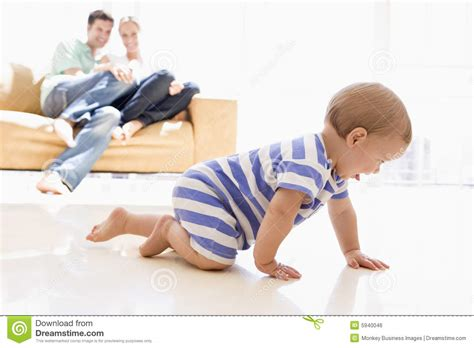 baby living room in living room with baby stock photo image 5940046