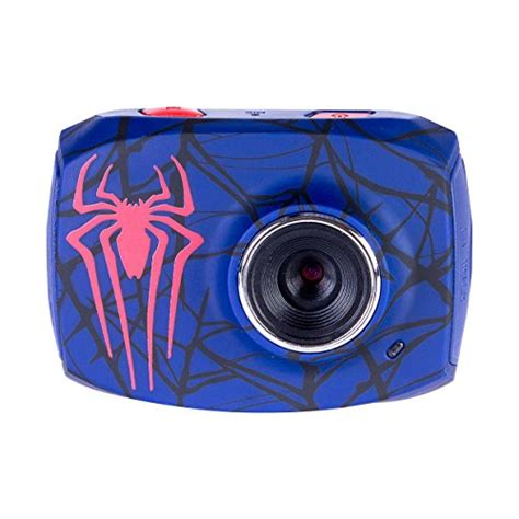 camara digital spiderman marvel s spiderman action video camcorder with 1 8 inch