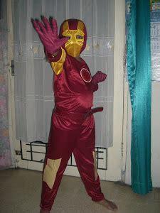 Setelan Kostum Flash kostum anak anak