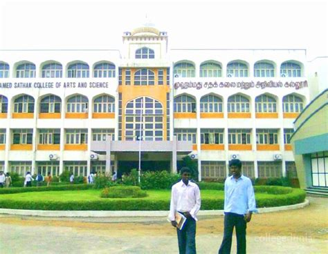 Mba Arts Colleges In Chennai by Mohamed Sathak College Of Arts And Science Chennai