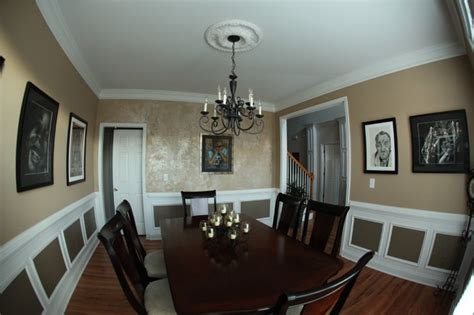 dining room accent wall stunning accent wall traditional dining room other