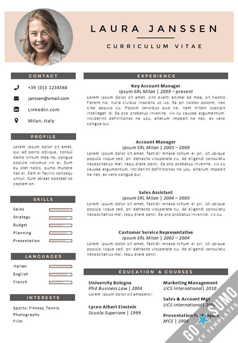 resume format style business list templates food shopping list
