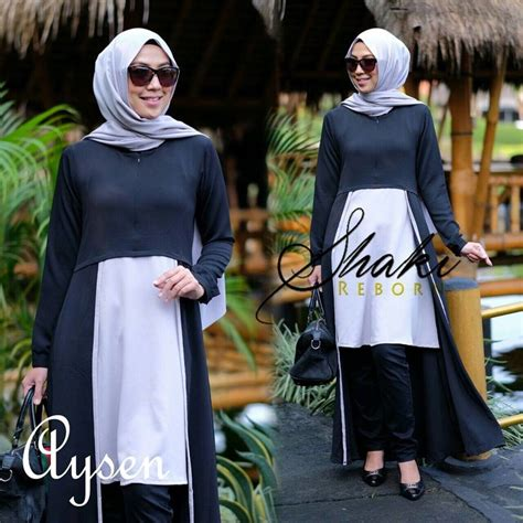 Casual Set Atasan Kulot By Shaki supplier baju muslim terbaru