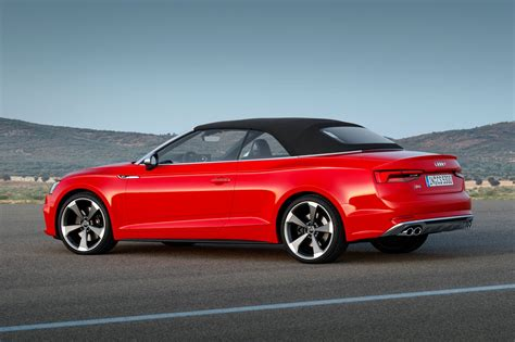 Audi Cabrio S5 by 2017 Audi S5 And A5 Cabriolet Chop Their Tops At La By Car