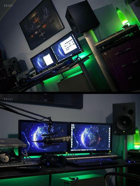 gaming station computer desk 219 best home office desk work space 215 battle station