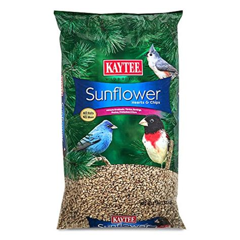 kaytee sunflower hearts and chips bird seed 8 pound