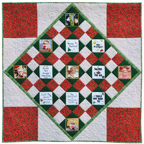 a christmas story quilt tutorial weallsew bernina usa