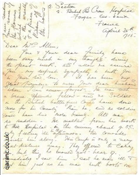up letter to a loved one world war 1 letters to loved ones from nurses to widows