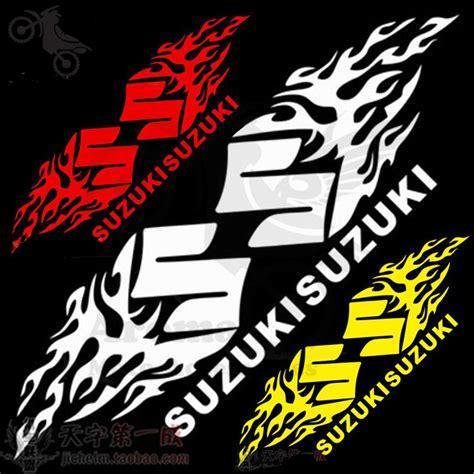 Biker Sticker Set Suzuki popular motorcycle decals suzuki buy cheap motorcycle
