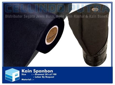 Kain Spunbond kain spunbond gramasi 30 s d 100 cellindo putra busa