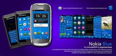 out of focus a theme for symbian belle apk mania nokia blue by niccolo830 poptmartone dimmed background