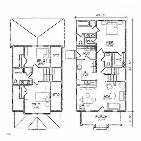 floor plan and elevation drawings house plan inspirational house plan and elevation