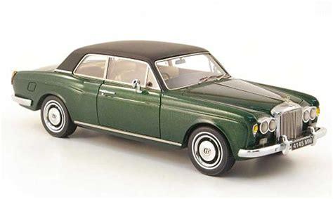 bentley corniche bentley corniche verde negro 1971 neo coches miniaturas 1