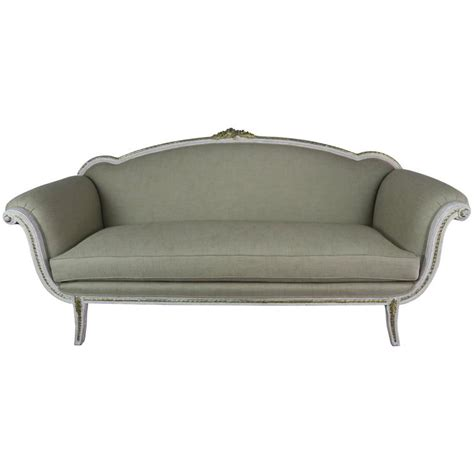 neoclassical sofa italian neoclassical style painted sofa circa 1930s for