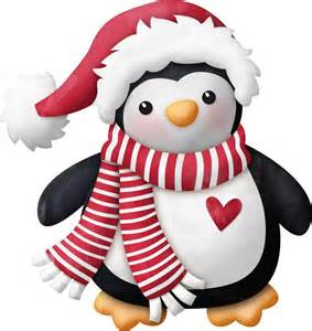 christmas penguin clipart clipart suggest