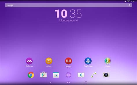 themes download play store shiny purple theme for xperia android apps on google play