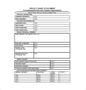 Budget For Grant Proposal Template Grant Proposal Template 33 Free Word Excel Pdf Ppt