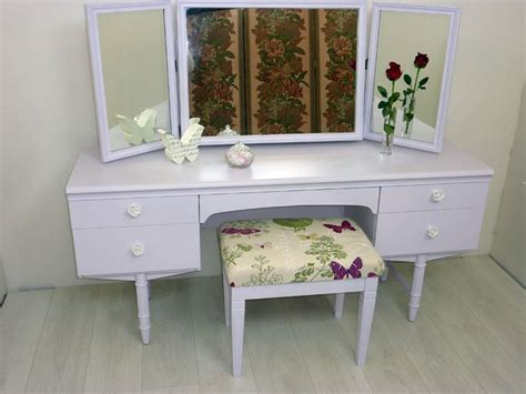 vintage g plan dressing table and stool painted vintage