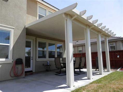 orange county solid patio cover wood  aluminum patio
