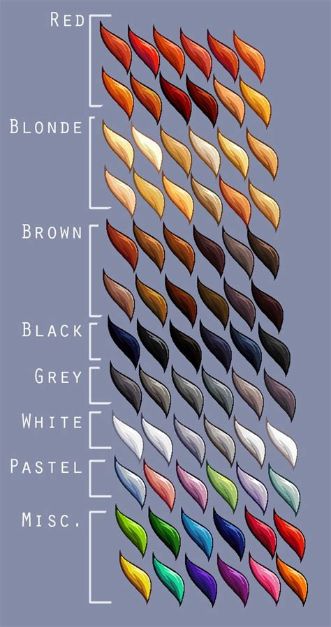 art writing colors reference referenceforwriters linestorm writing thosestoriesuntold hair color reference