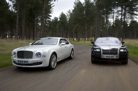 Sports Cars Rolls Royce Phantom Vs Bentley Mulsanne