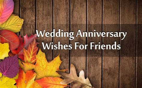 Wedding Anniversary Wishes For Friends   WishesMsg