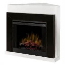 corner fireplace electric dimplex covertable corner electric fireplace black