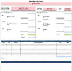 free excel bank reconciliation template
