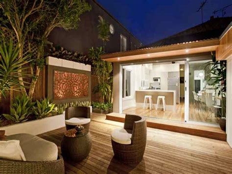 outdoor living areas outdoor living design with deck from a real australian