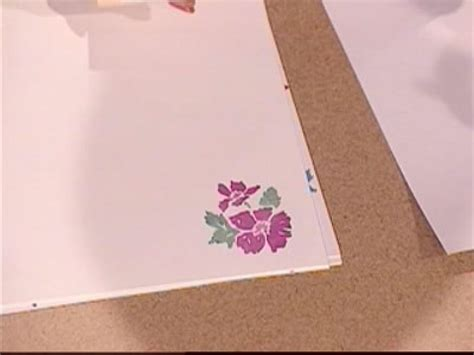 How To Make A Paper Border - how to make scrapbook borders hgtv