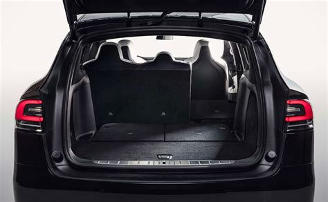 Tesla Seating For 7 Tesla Model X In 7 Seat Configuration Finally Gets Fold