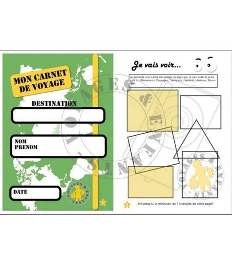 1304205975 enfants journal de voyage mon carnet de voyage 6 9 ans 224 t 233 l 233 charger et 224 imprimer