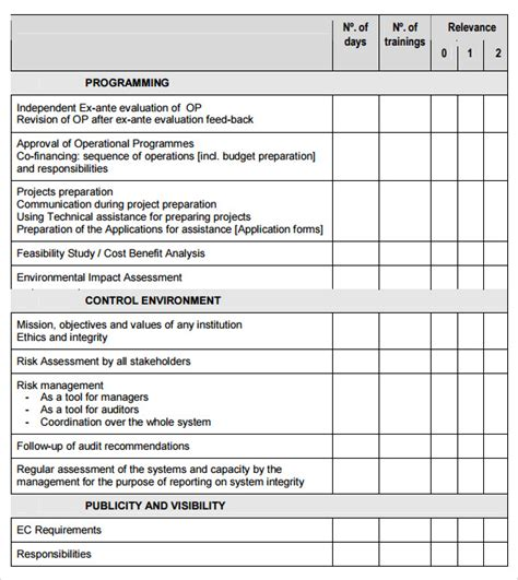 needs analysis questions template needs assessment 13 free documents in