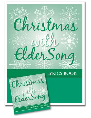 picture book lyrics with eldersong singalong cd and lyrics book