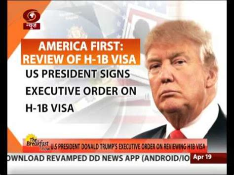 Executive Mba On H1b Visa by Us President Signs Executive Order For Changes In H1b Visa