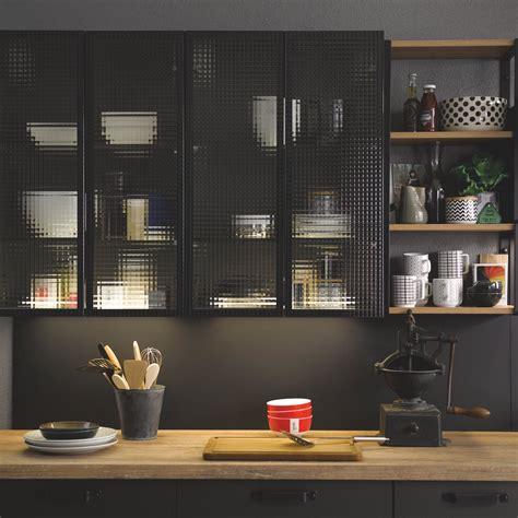 cuisine vitr馥 atelier beautiful meuble haut cuisine vitre pictures design