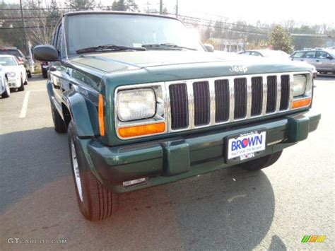 2000 forest green pearl jeep limited 4x4 43255132 gtcarlot car color galleries